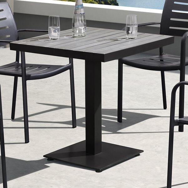 Roda Aluminum Dining Table by Darby Home Co