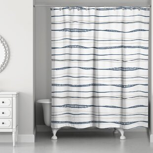 Reviews Fanette Wavy Shower Curtain By17 Stories