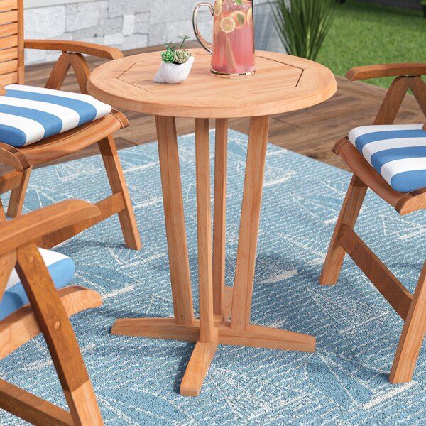 Brighton Teak Dining Table By Sol 72 Outdoor by Sol 72 Outdoor New Design