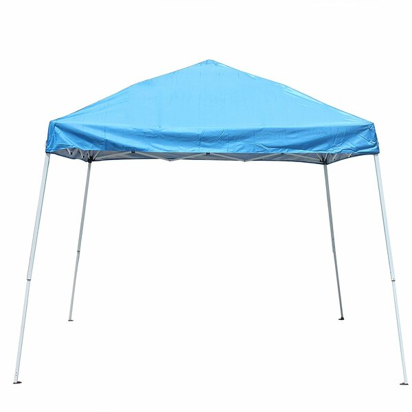 Collapsible 8 Ft. W x 8 Ft. D Steel Pop-Up Canopy by ALEKO