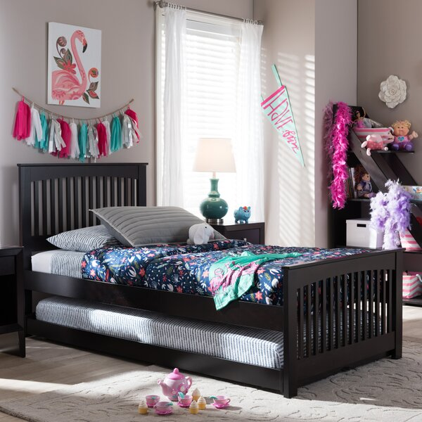 Perkinson Twin Platform Bed by Harriet Bee