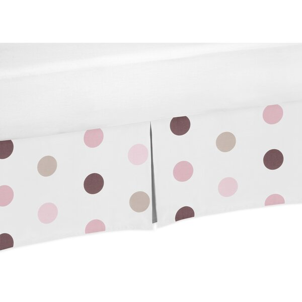Mod Dots Polka Crib Skirt by Sweet Jojo Designs
