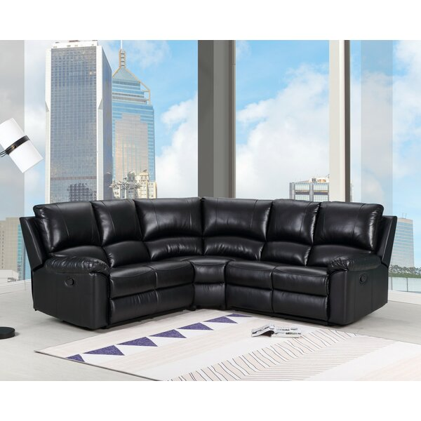 Jaidan Symmetrical Symmetrical Reclining Sectional by Latitude Run