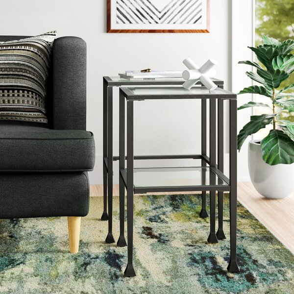 Sabrina 2 Piece Nesting Tables By Zipcode Design