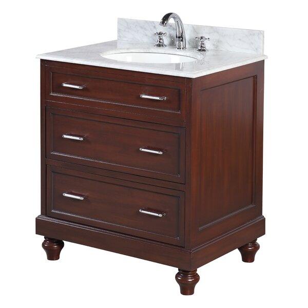 Amelia 30 Single Bathroom Vanity Set by Kitchen Bath Collection