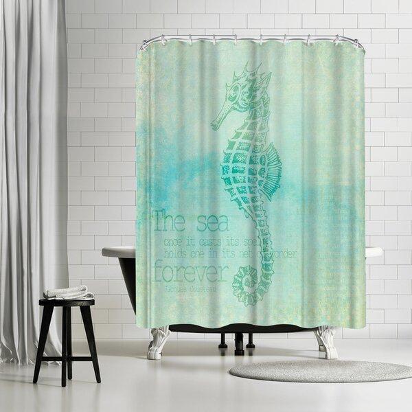 Lebens Art Vintage Animal Shower Curtain by East Urban Home