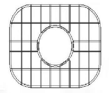 11.36 x 9.25 Sink Grid for Undermount Small Right Bowl Kitchen Sink by Empire Industries
