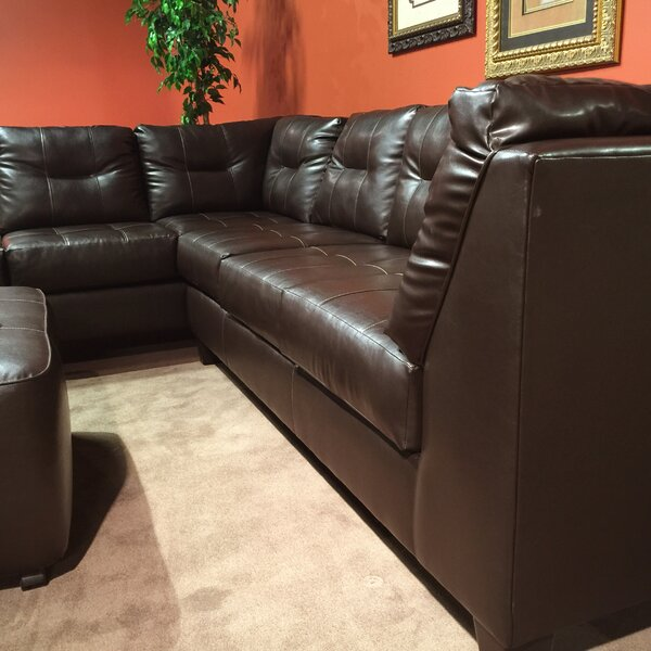 Marinio Left Hand Facing Sectional by Roundhill Furniture