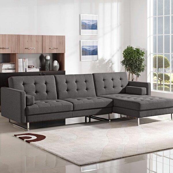 Opus Sleeper Sectional by Diamond Sofa