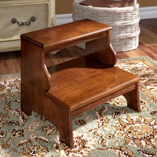 Strange Willard 2 Step Wood Step Stool With 375 Lb Load Capacity Alphanode Cool Chair Designs And Ideas Alphanodeonline