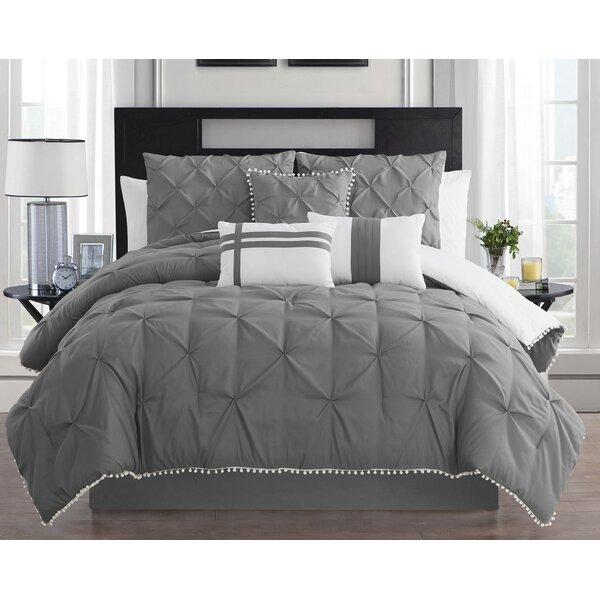 Drucilla Comforter Set by House of Hampton