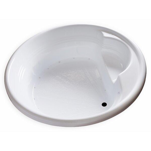 Hygienic Air Massage 72 x 72 Bathtub by Carver Tubs