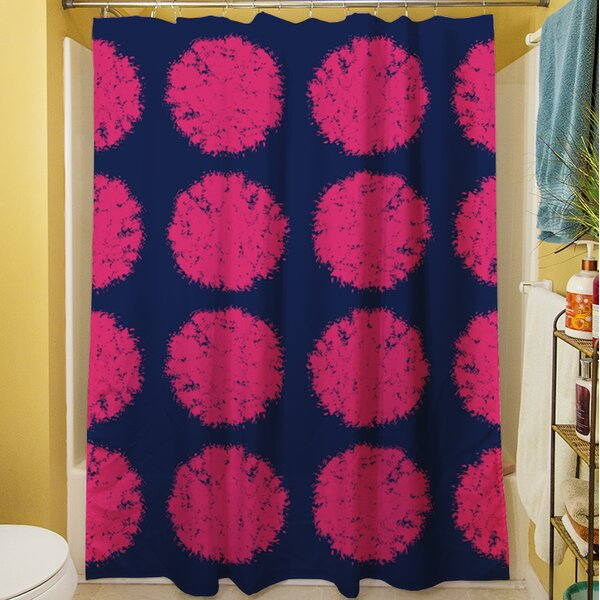 Pod Dots Shower Curtain by Manual Woodworkers & Weavers