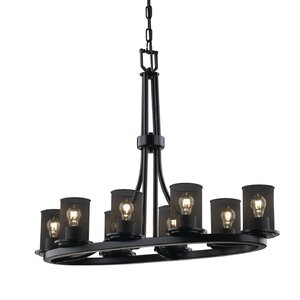 Bennett 8-Light Drum Chandelier