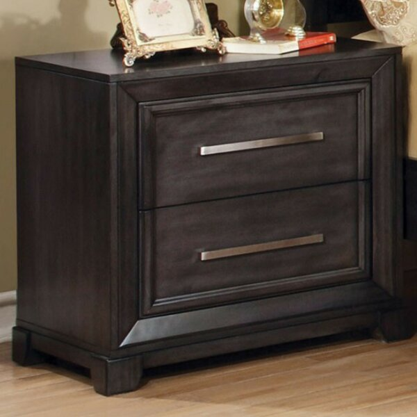 Palmerston 2 Drawer Nightstand by Brayden Studio