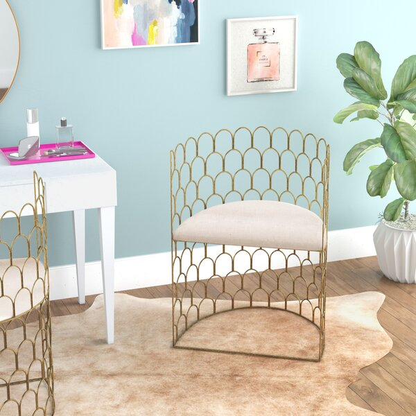 Alcaraz Barrel Chair by Everly Quinn