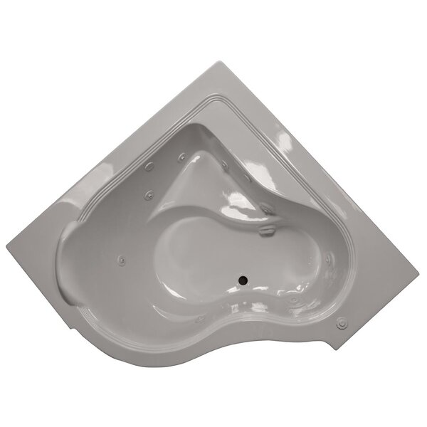 60 x 60 Whirlpool Bathtub by American Acrylic