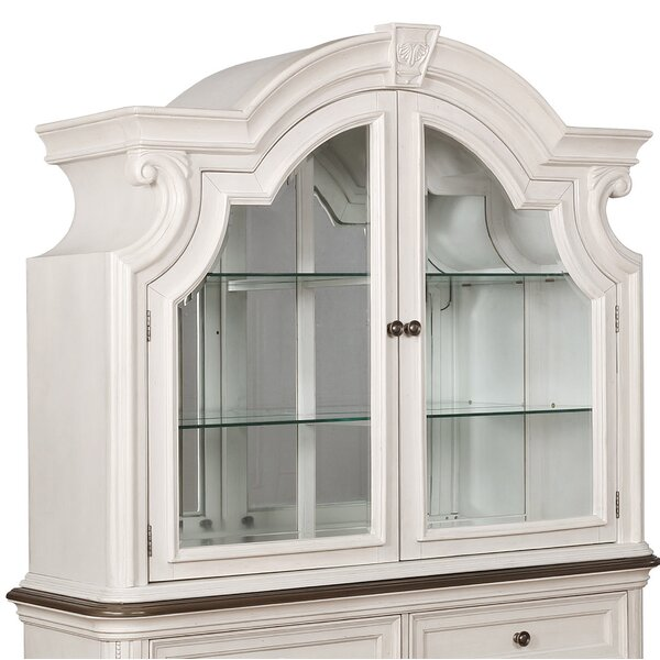 Lighted China Cabinet by One Allium Way