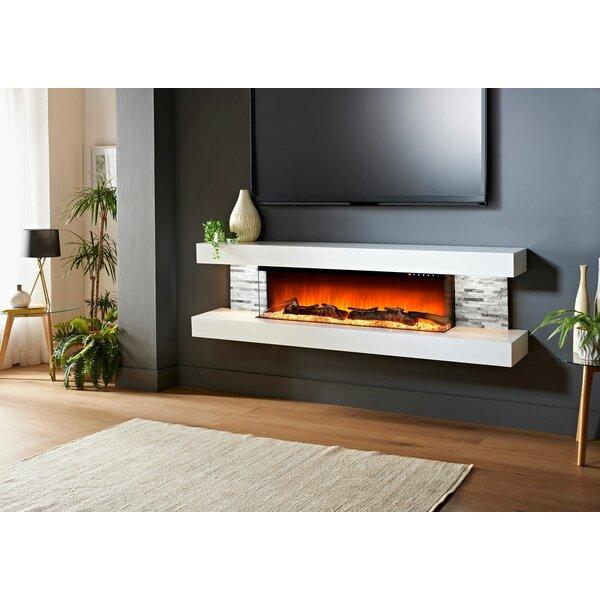 Katlyn Wall Mounted Electric Fireplace by Orren Ellis Orren Ellis