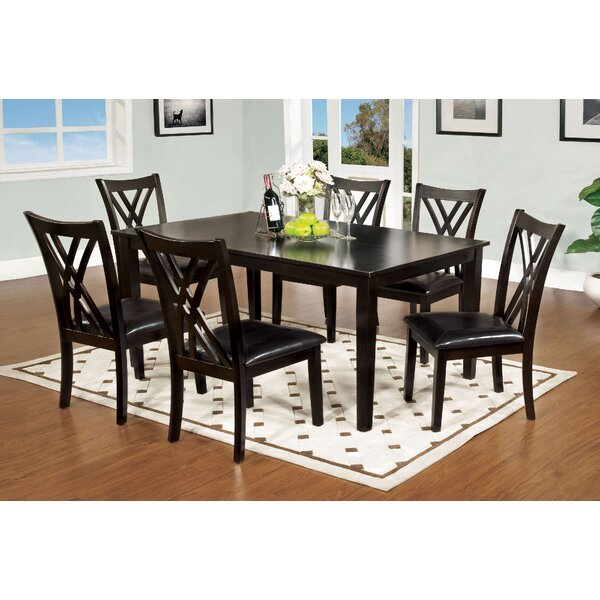Karn 7 Piece Dining Set by Alcott Hill
