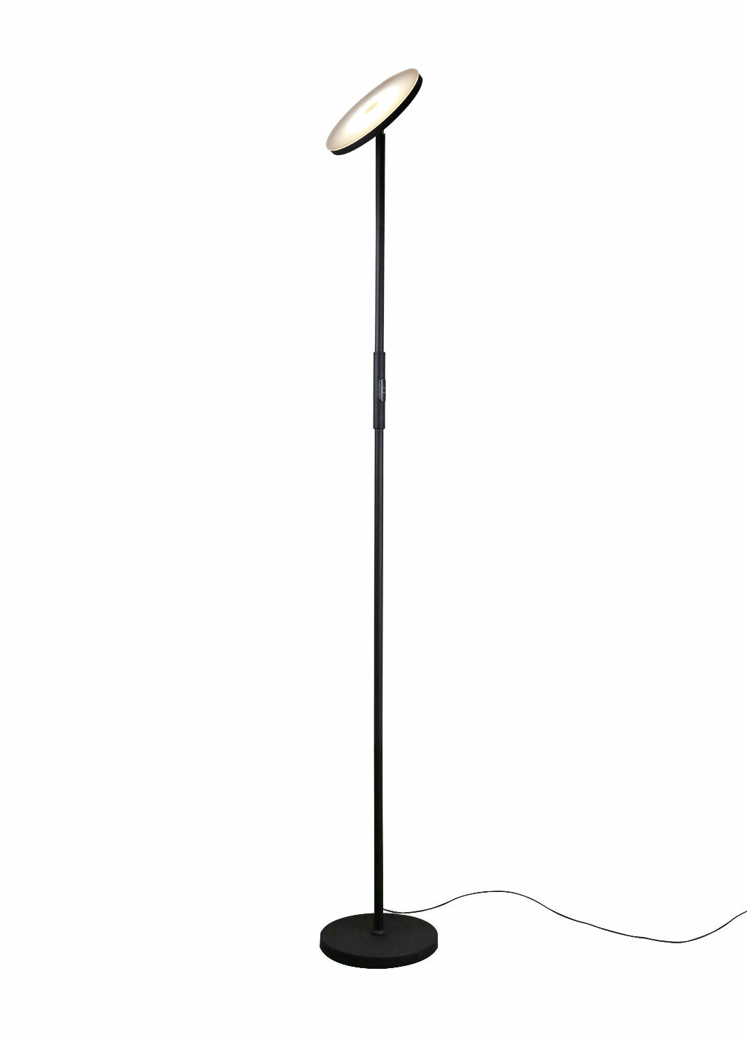 "Brander 19"" LED Torchiere Floor Lamp"
