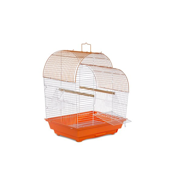 Zoe Waterfall Roof Budgie Cage by Archie & Oscar