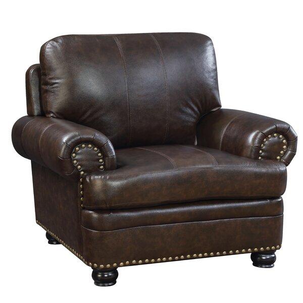 Alamosa Transitional Club Chair by Hokku Designs