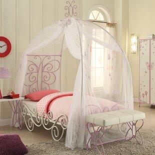 Priya II Canopy Bed & Girls Bed Crown Canopy   Wayfair