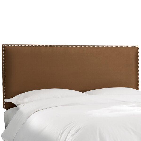 Nail Button Border Upholstered Panel Headboard by Wayfair Custom Upholstery™