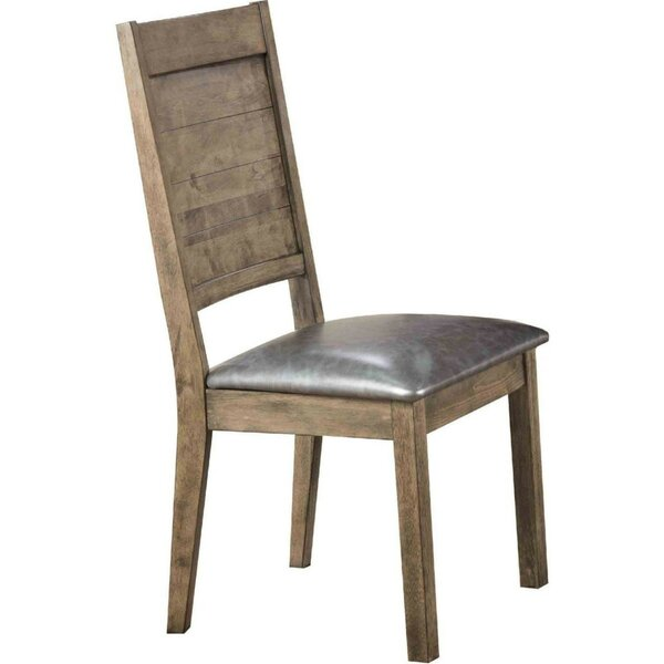 Geismar Solid Wood Dining Chair (Set of 2) by Union Rustic
