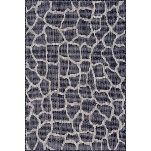 Munn Brown/Gray Indoor/Outdoor Area Rug by House of Hampton