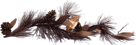 Pine Magnolia Garland by Adams & Co