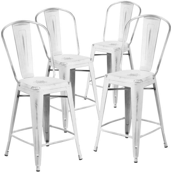 24'' Bar Stool (Set of 4) by Flash Furniture