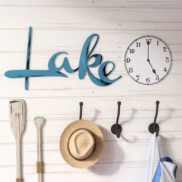 2 Piece Lake Time Wall Décor Set by Loon Peak