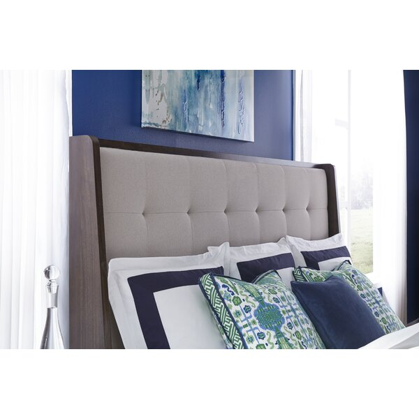 Sallie Upholstered Panel Headboard by Brayden Studio