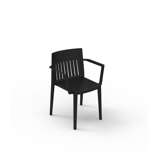Spritz Stacking Patio Dining Chair (Set of 4) by Vondom