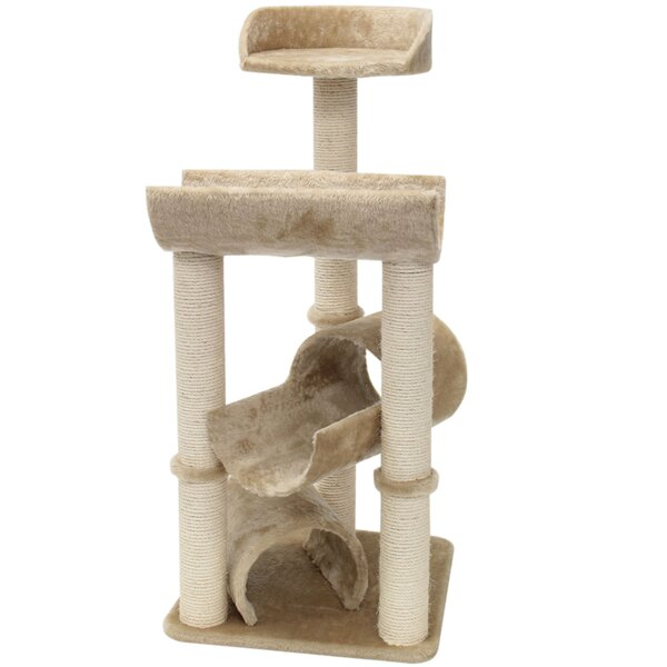 44 Casita Fur Cat Perch by Majestic Pet Products