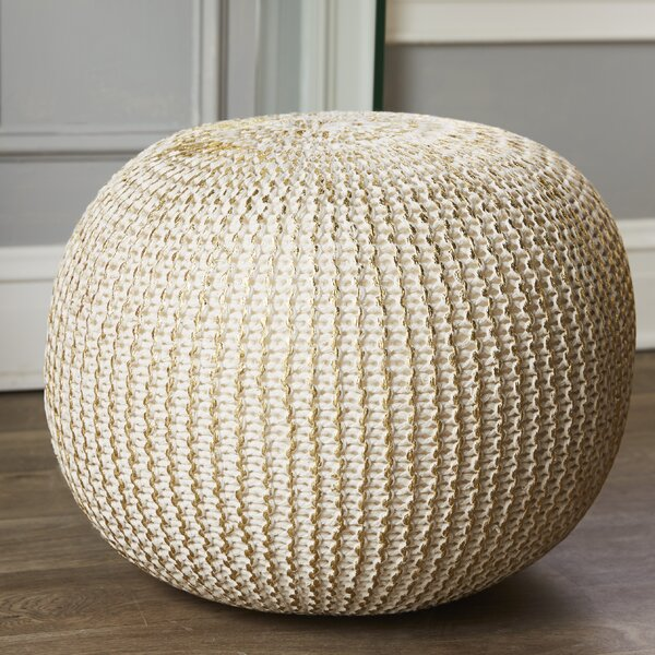 Kyleigh Pouf by Mistana