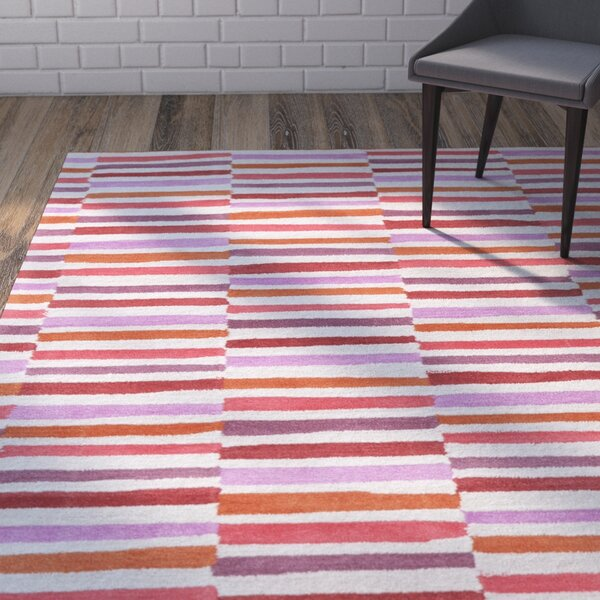 Futch Hand-Tufted Pink Area Rug by Brayden Studio