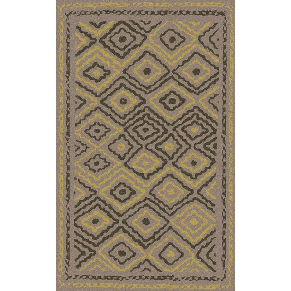 Sala Light Gray Area Rug by Bungalow Rose