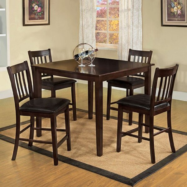 Carletta 5 Piece Counter Height Dining Set By Red Barrel Studio