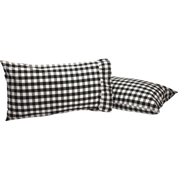 Castleberry Check Pillow Case (Set of 2) by August Grove