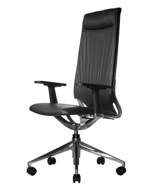 Marco II High-Back Leather Executive Chair by Wobi Office