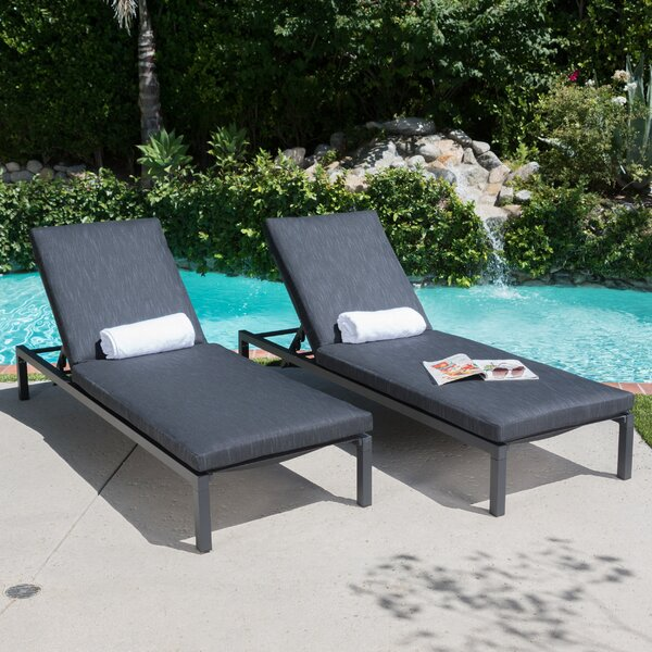 Dimatteo Chaise Lounge (Set of 2) by Ivy Bronx