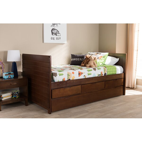Soriano Twin Daybed With Trundle By Alcott Hill