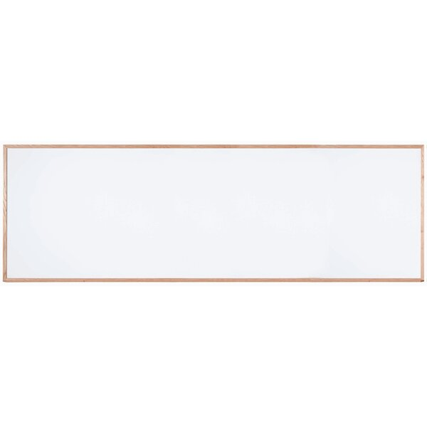 Magnetic Wall Mounted Whiteboard by AARCO