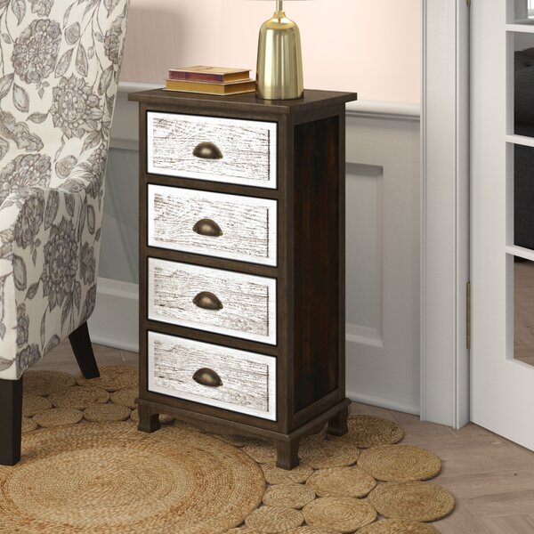 Villalvazo 4 Drawer Accent Chest by Ophelia & Co.