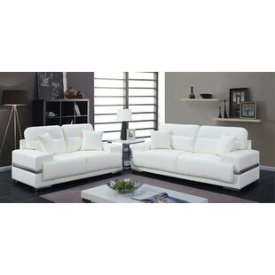 Hewson  2 Piece Living Room Set by Orren Ellis
