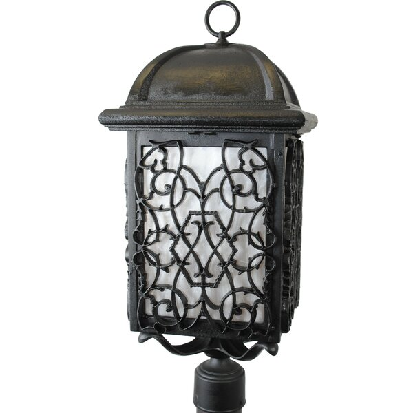 Penfield Beddo Series 1 Light 29 Post Lantern by Alcott Hill