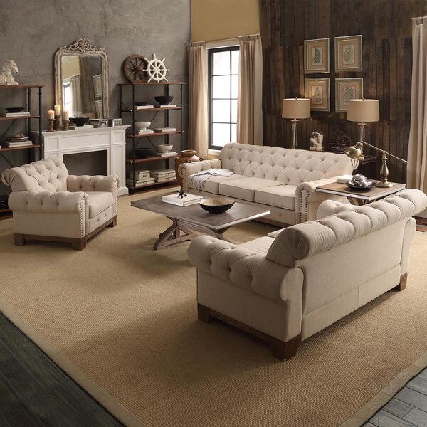 New Britain Configurable Living Room Set by Three